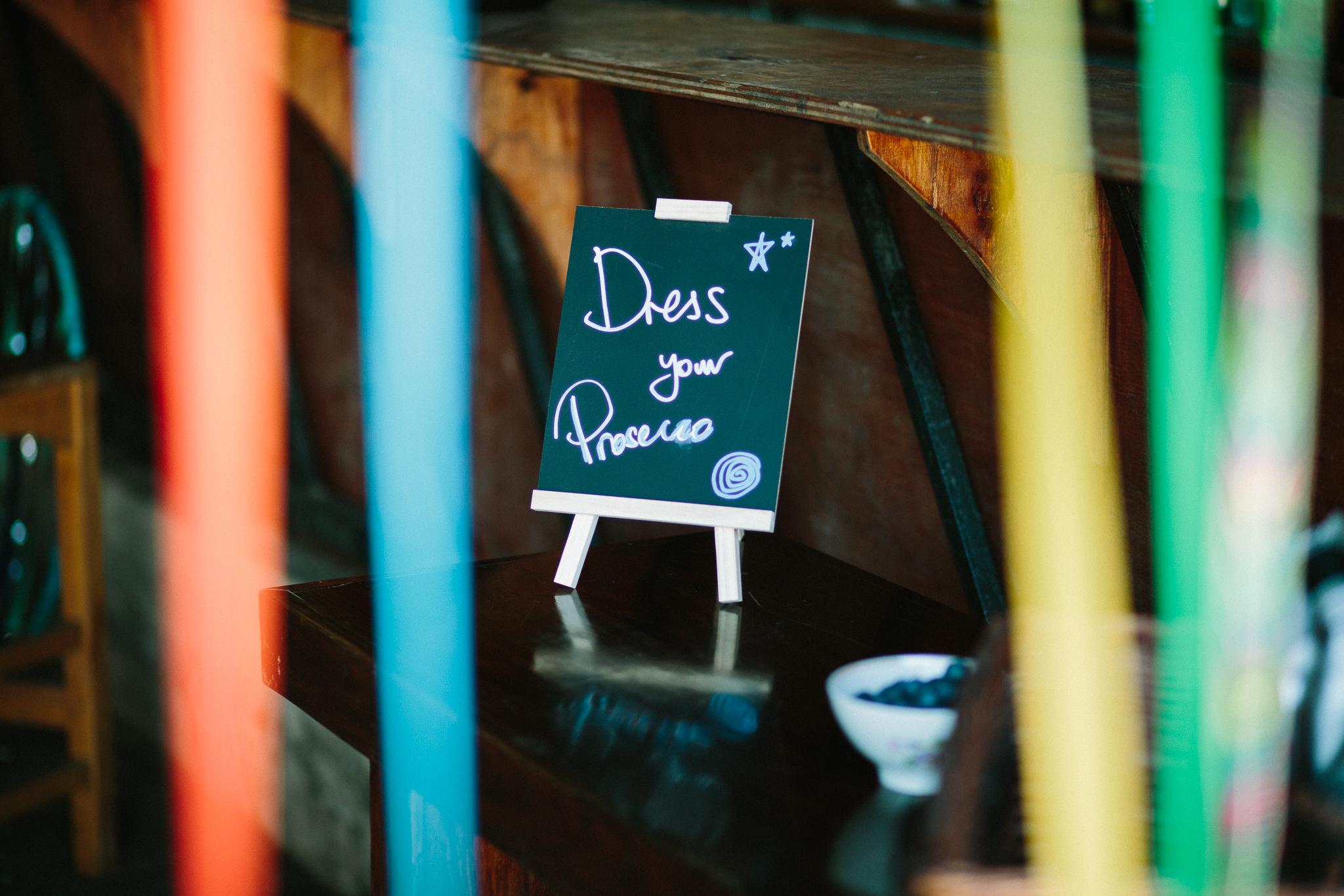 wedding prosecco