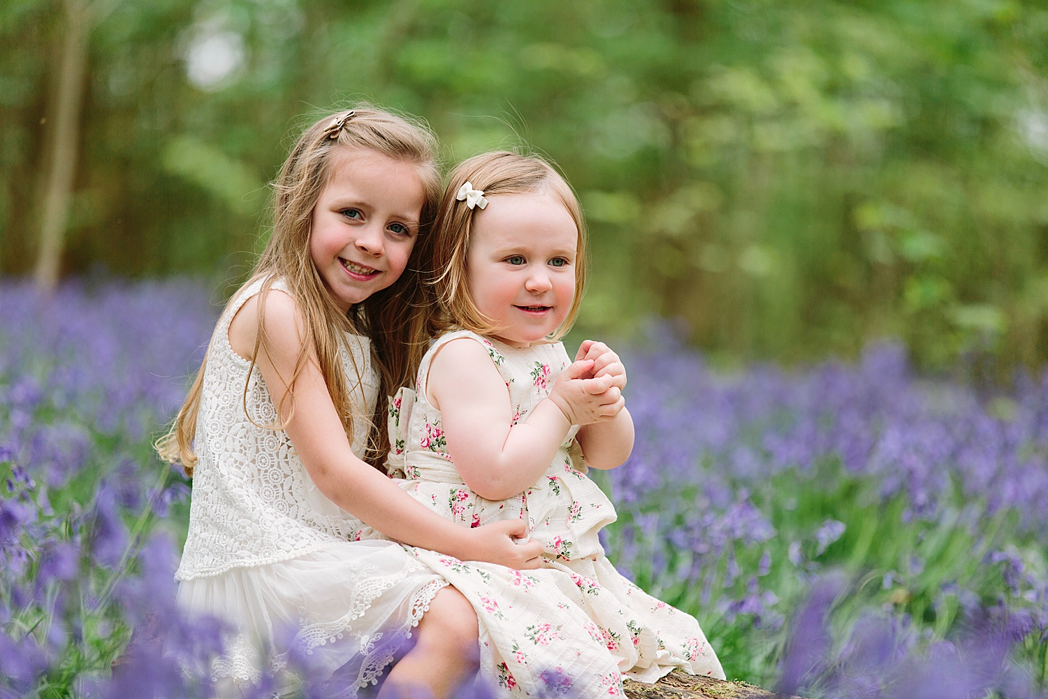 hampshire bluebell shoot