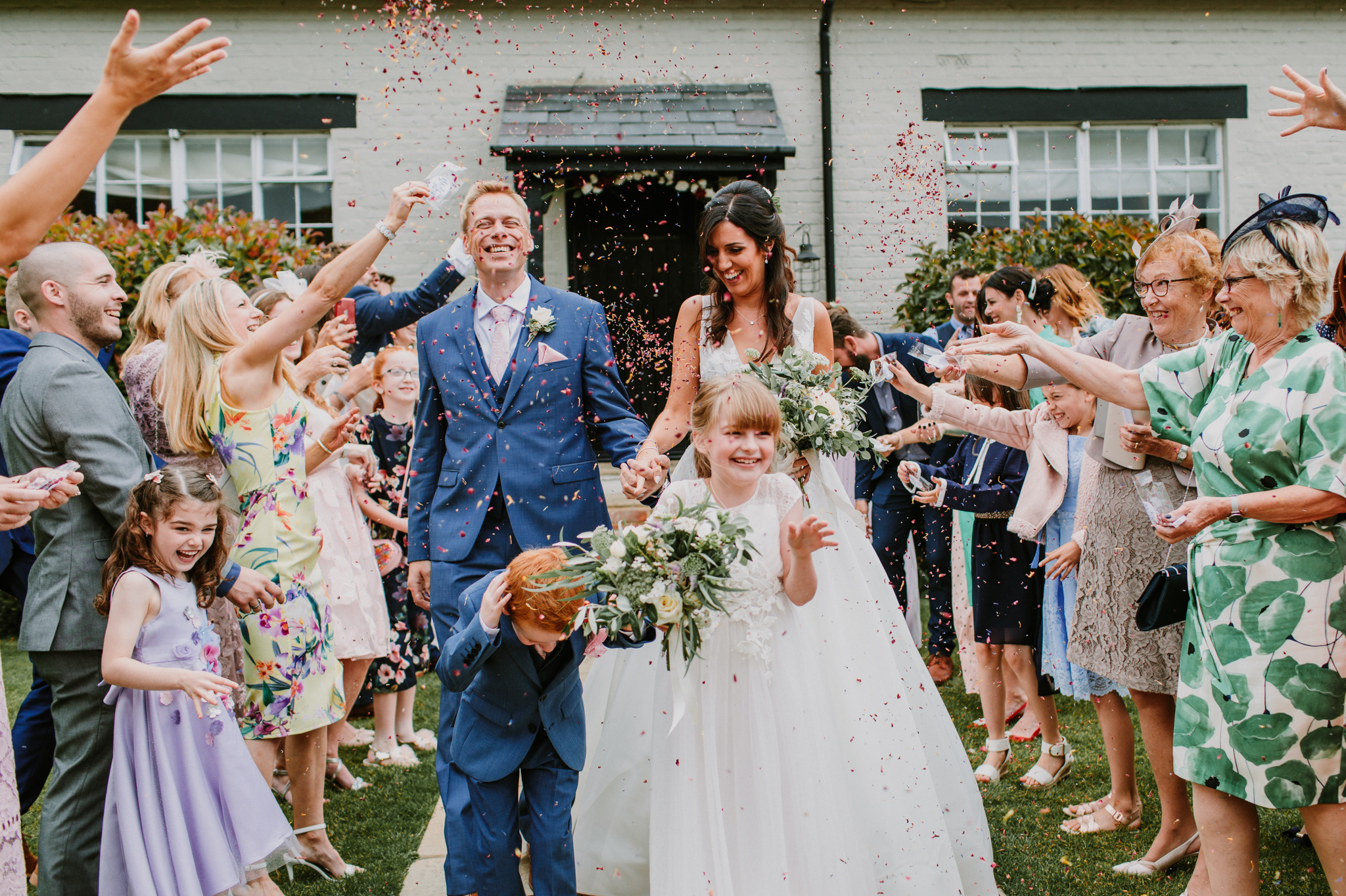 documentary wedding photographer hampshire
