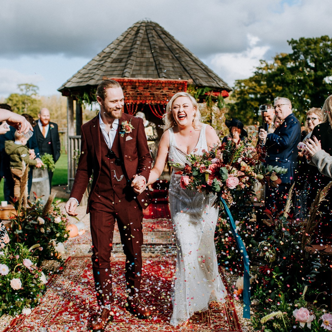 Featured WeddingCiara & Jack at Three Choirs Vineyard, Wickham -