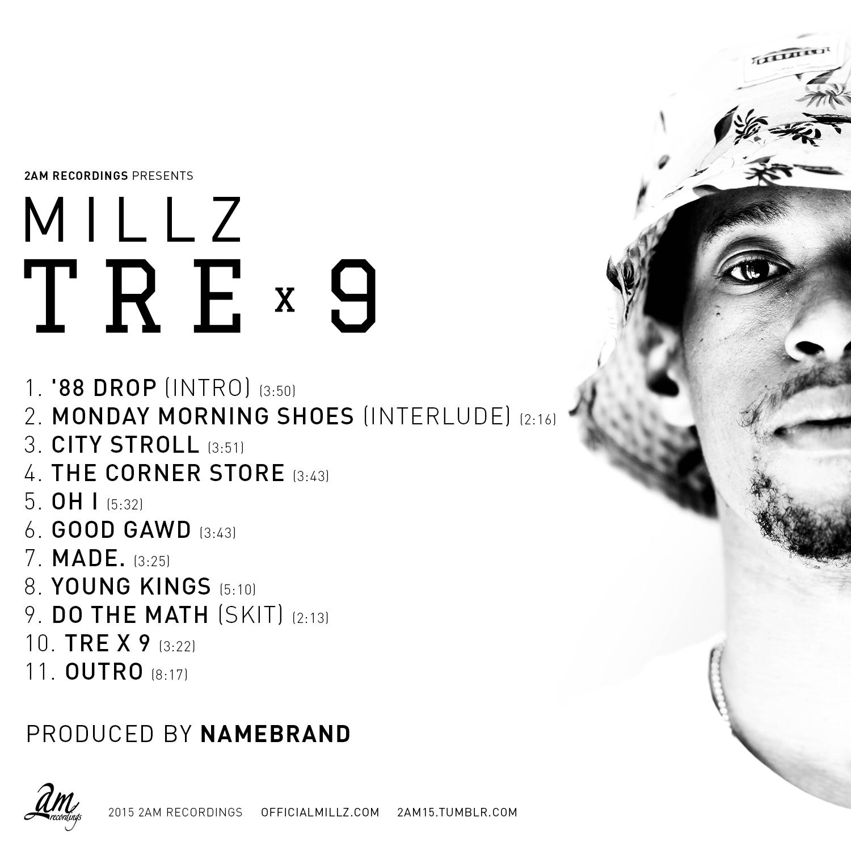 TRE X 9 - MILLZ