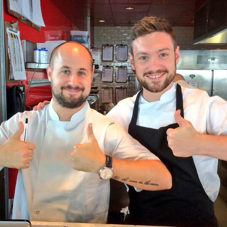 Dan & Tom from Duck and Waffle