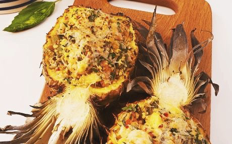 andy-bates-pineapple-prawn-okra-salad
