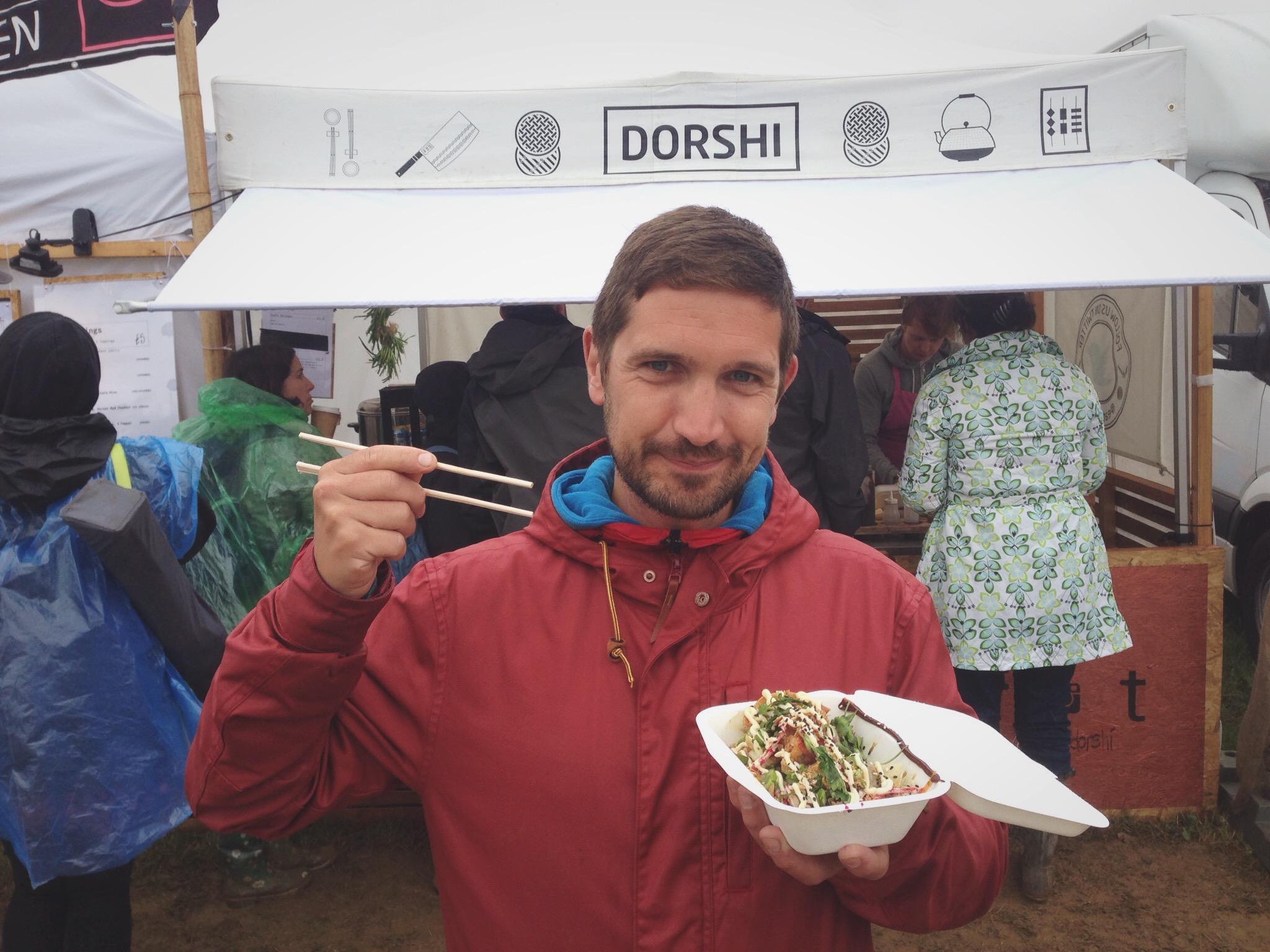 Amazing dumplings from Dorshi
