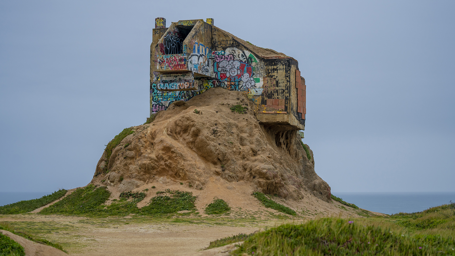 Devil's Slide Bunker - Pacifica, California
