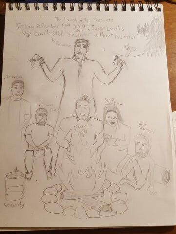 Original rough sketch by Ben Davis