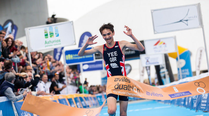 Check out our podcast interview for young triathlete Alex Yee. -