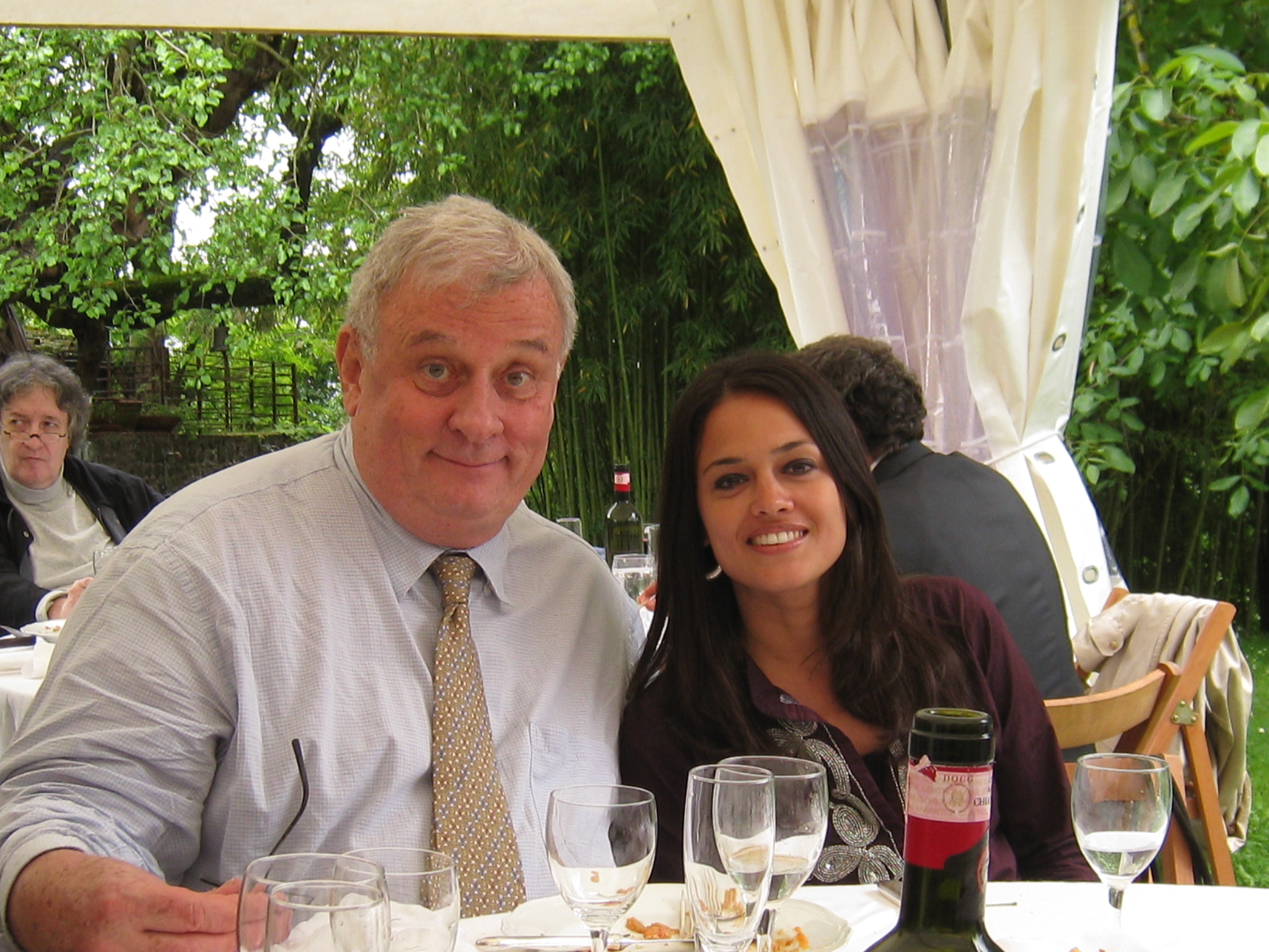 Edmund White and Tishani Doshi