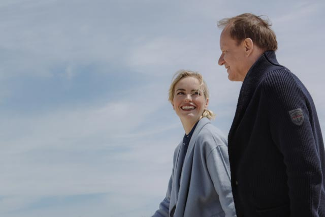 """Return to Montauk"" with   Nina Hoss and Stellan Skarsgård, at Cinema della Compagnia June 17th, with director Volker Schlöndorff"