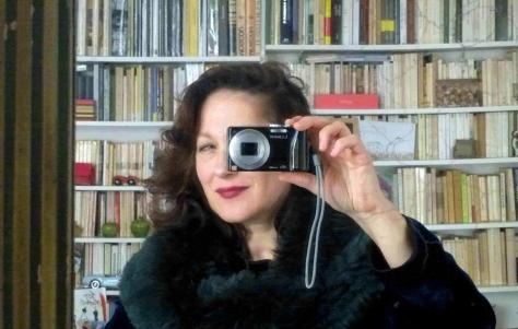 Anna D'Elia, winner of the prize for translation