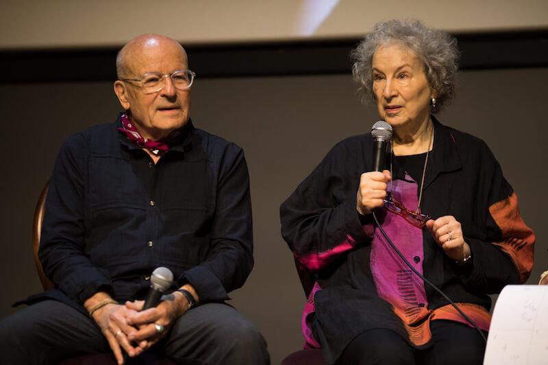 Volker Schlöndorff, Margaret Atwood.jpg