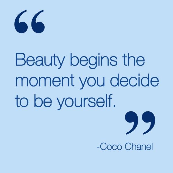 Coco Chanel Quotes | Derivations Skincare