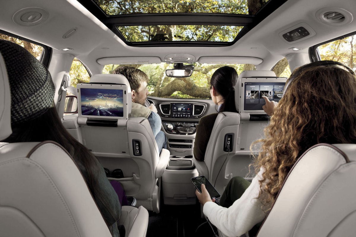 Photo Credit: Chrysler Pacifica -  http://www.nwitimes.com