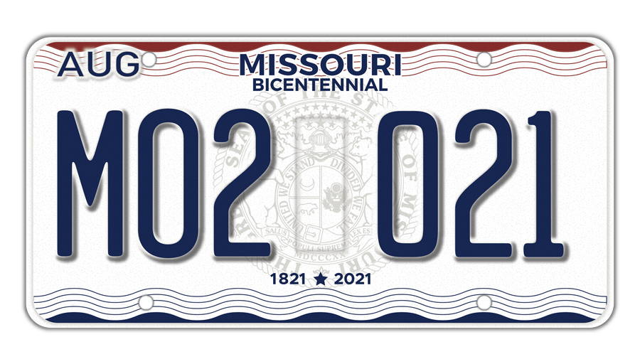 Missouri License Plates Bicentennial.png