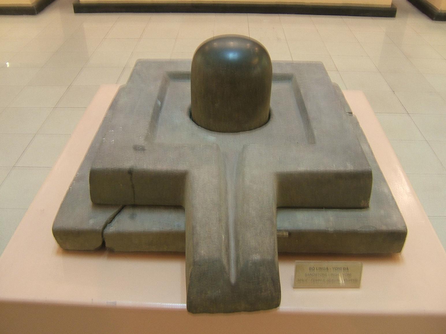 Linga-Yoni at the Vietnam National Museum