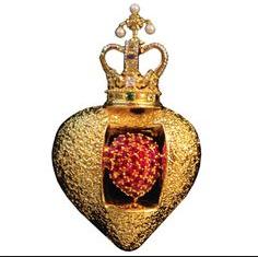 Salvador Dali's Royal Heart Brooch