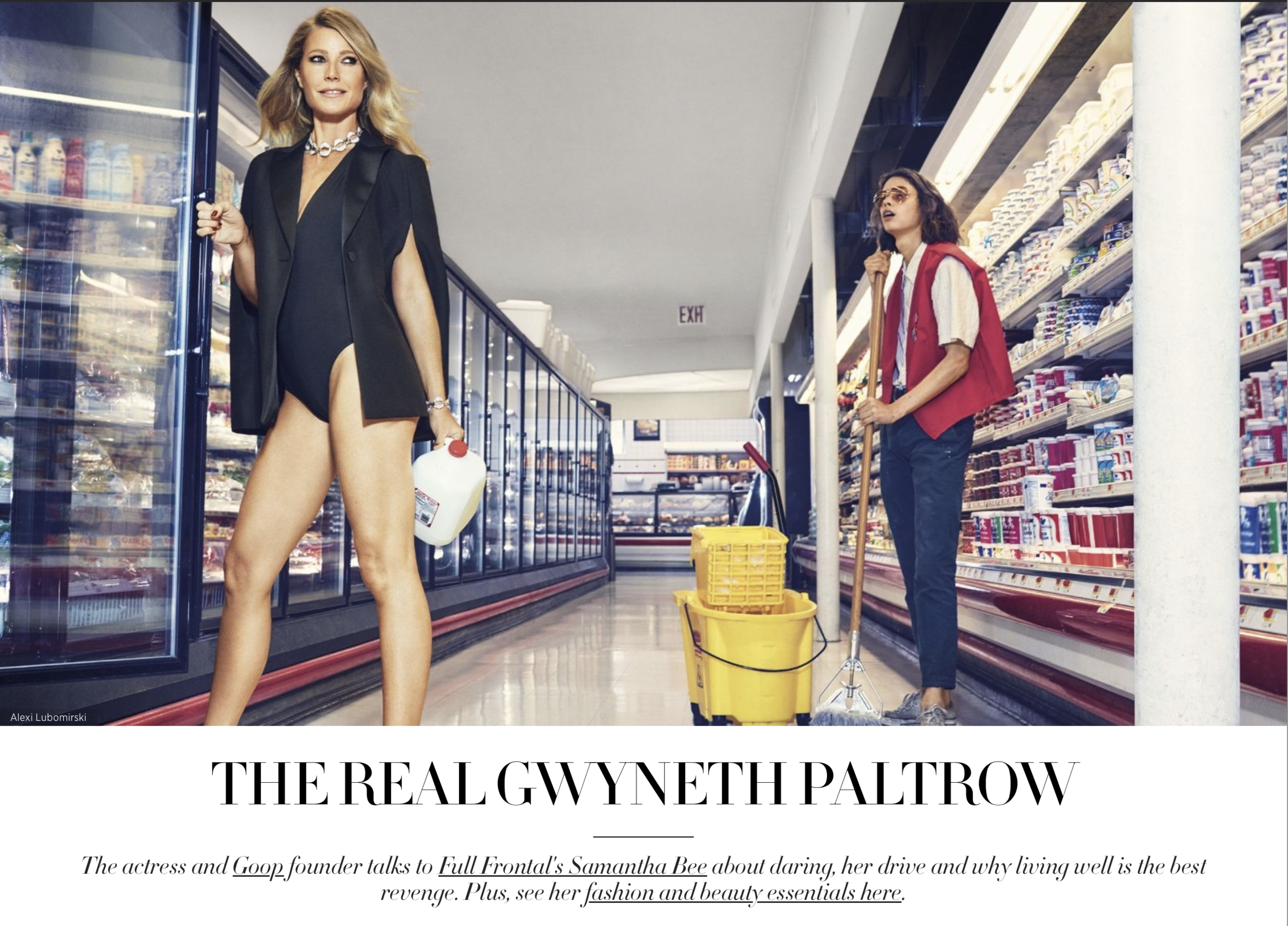 What an honor if was to help  Gwyneth Paltrow  prepare for her fabulous  Harpers Bazaar feature ! It's no accident the Oscar-winning mogul remains a fitness and health icon because she never stops work'n it!