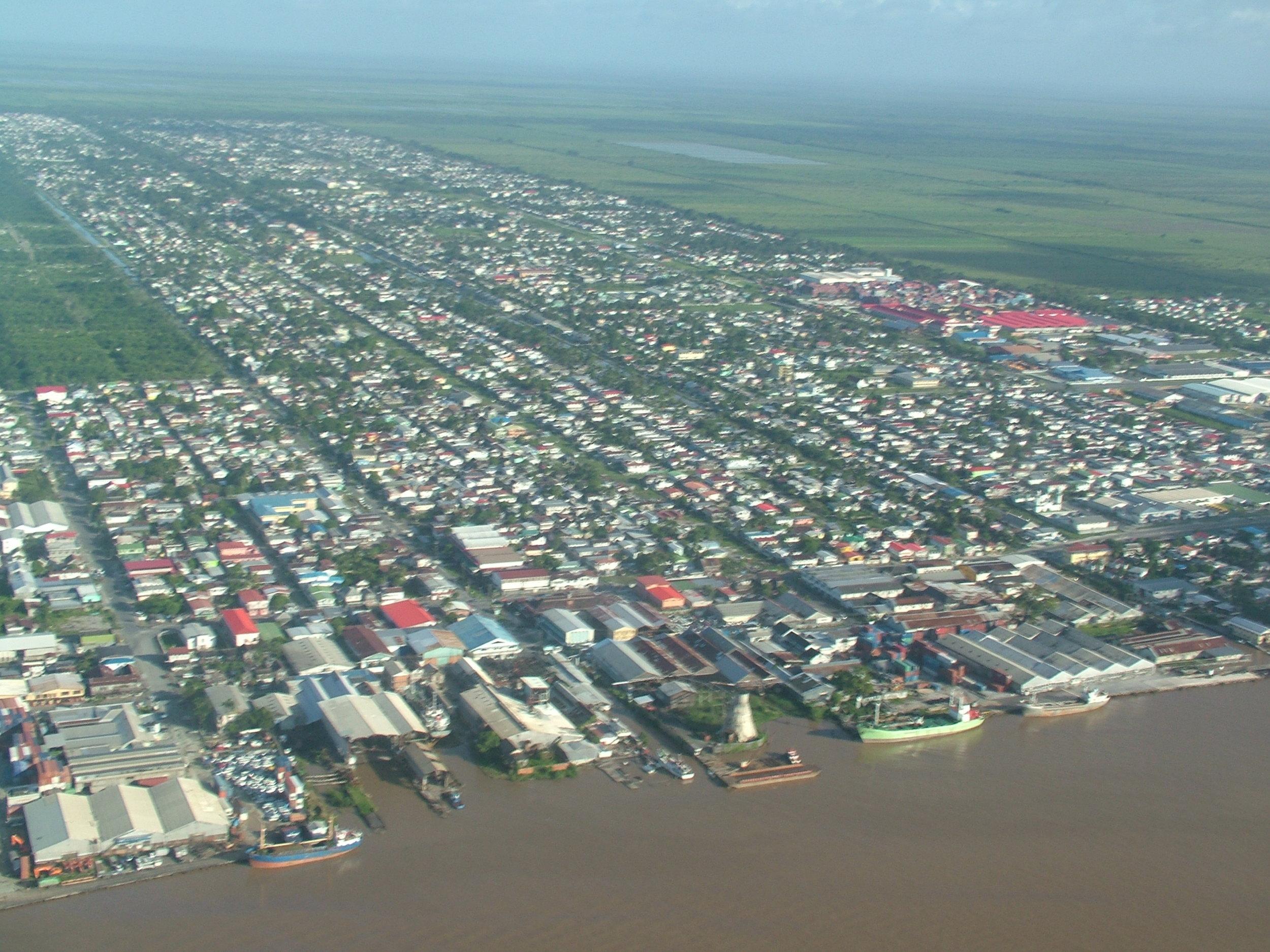 Demerara River in Guyana.JPG