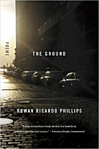 The Ground  (Farrar, Straus and Giroux: 2012).  Recipient of a 2013 Whiting Writer's Award, the PEN/Osterweil Award for Poetry and the GLCA New Writers' Award for Poetry.  finalist for the  Los Angeles Times  Book Prize for Poetry.  Finalist for the NAACP Image Award for Poetry.