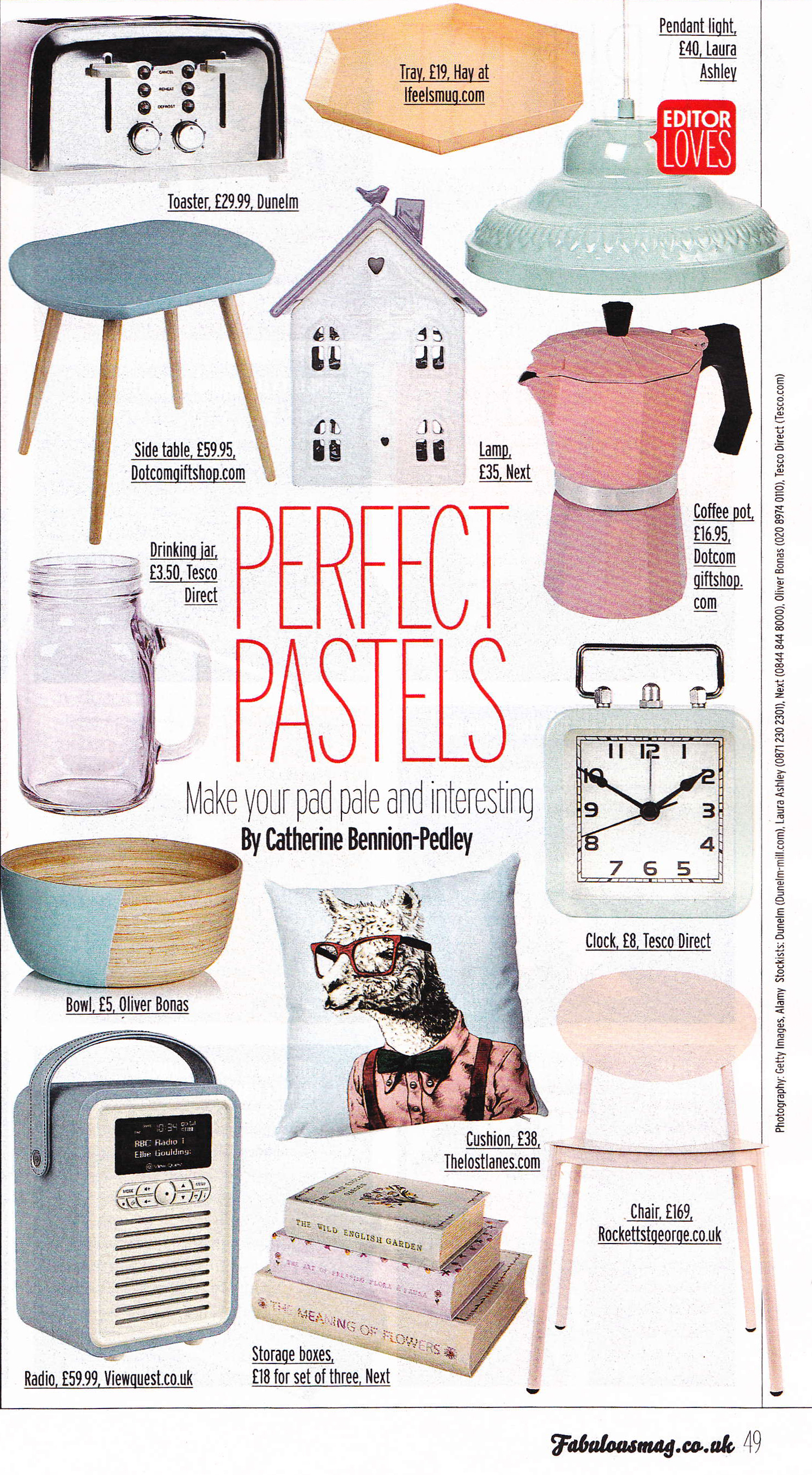 Fabulous Magazine Feature- Jan 2015