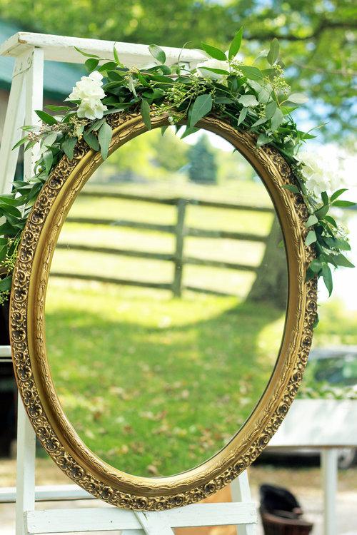 Vintage Gold Mirror $20