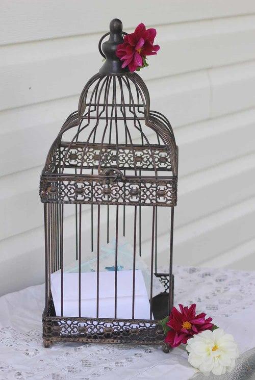 Birdcage Card Box $20