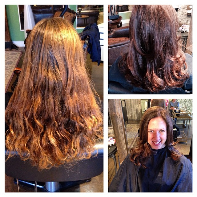 Before and After 💁 #alibithesalon