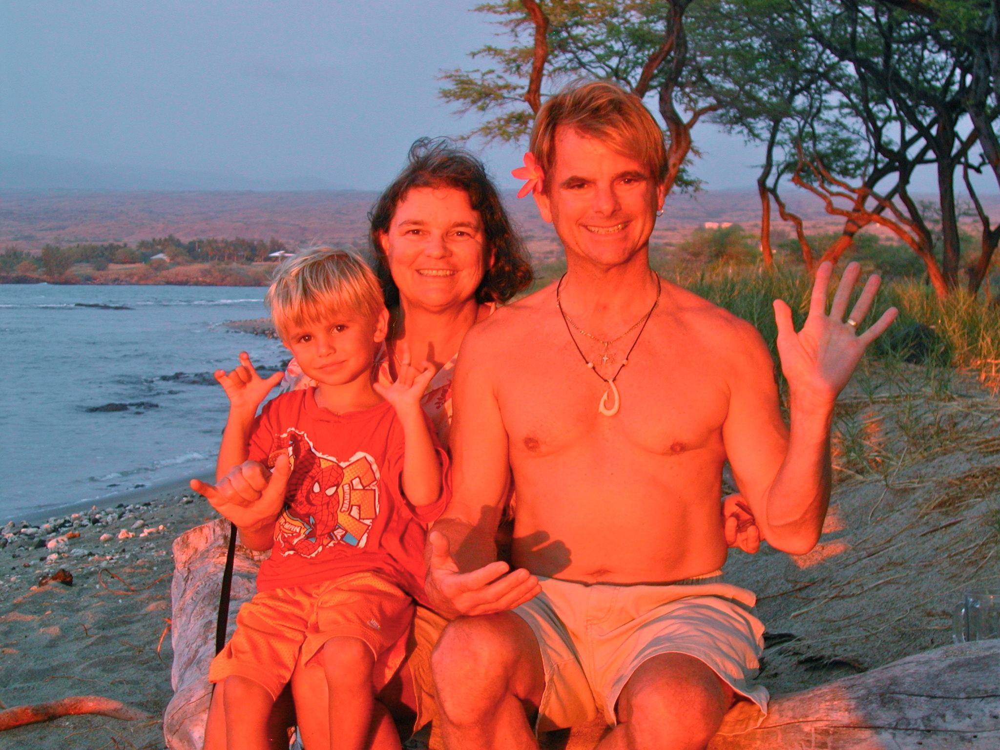 Zander (grandson), Maureen & Richard