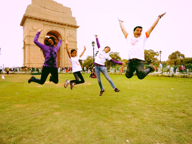 Now this family knows how to have FUN     CLICK HERE  for India 2015