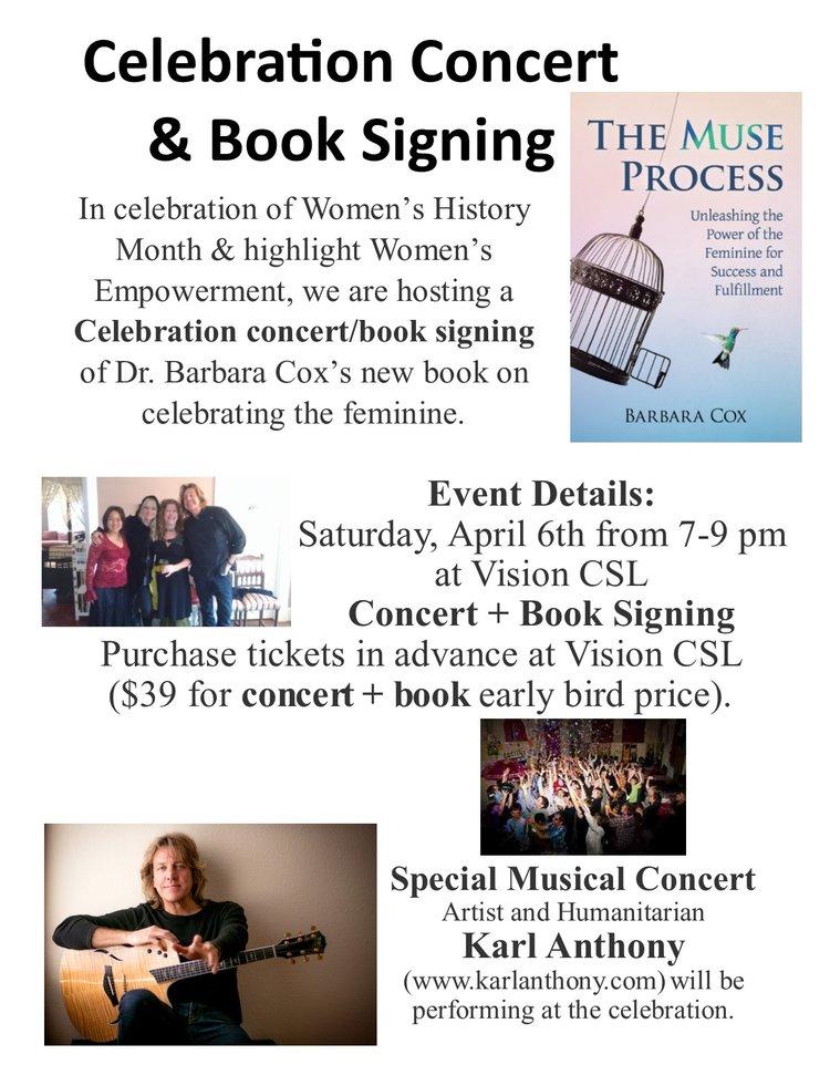San Diego, CA - Barbara Cox Book Signing Celebration at