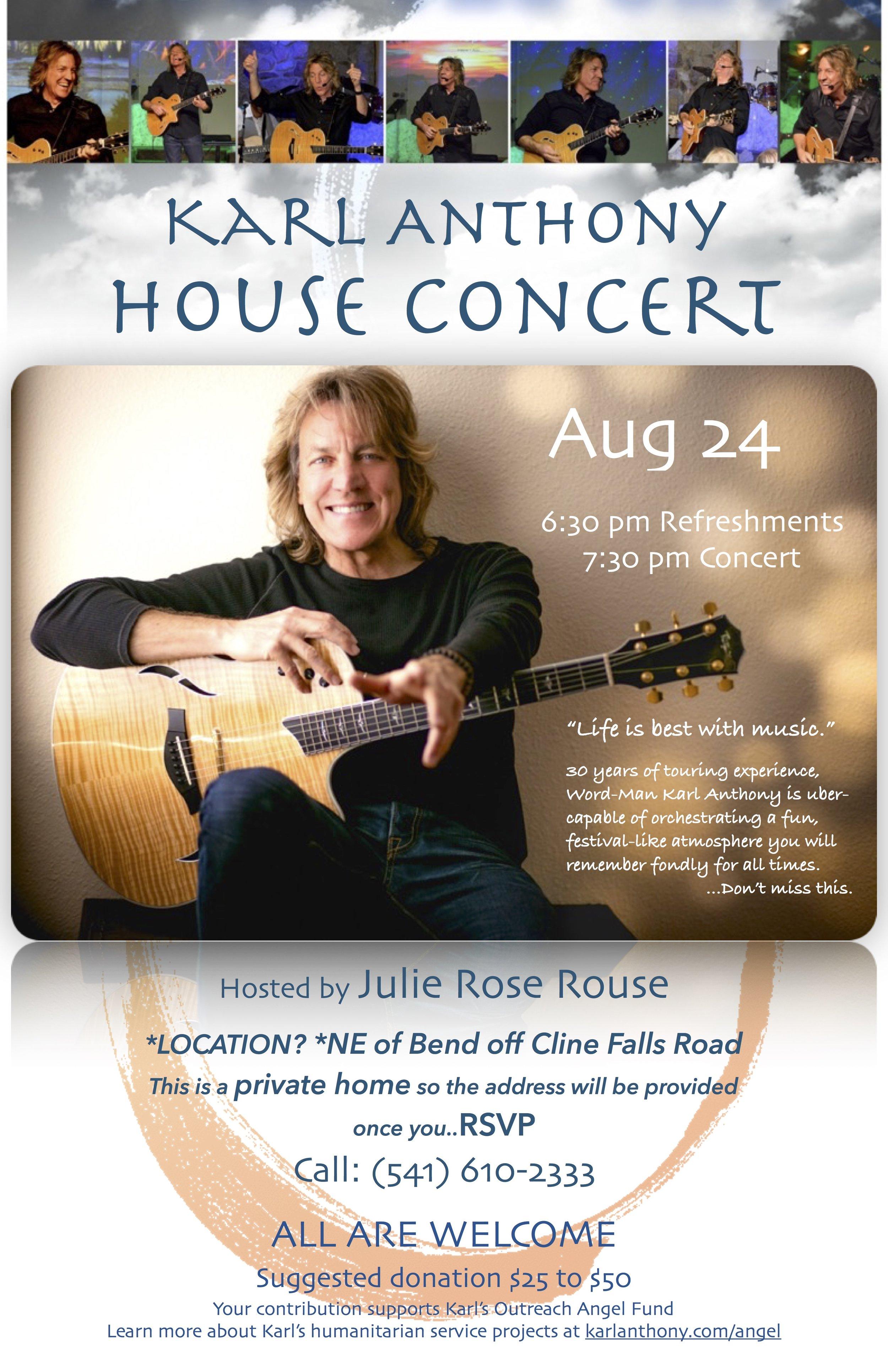 Poster - House Concert Julie Rose JPEG.jpg