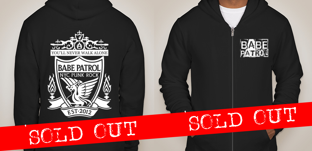 You'll never walk alone Zip-up Hoodie - $35 + shipping