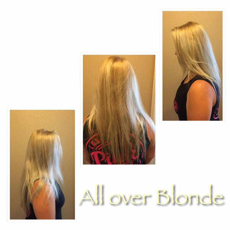 All Over Blonde