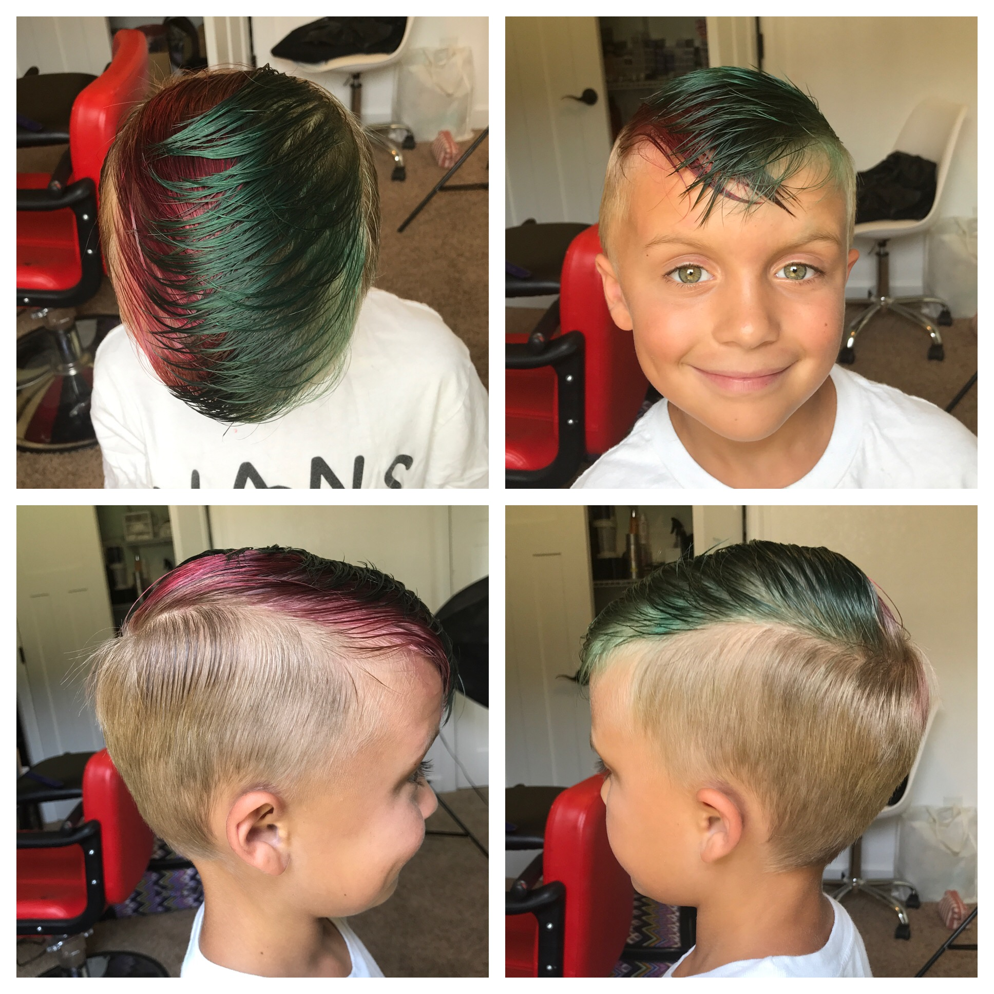 Fashion Color - Children's haircut