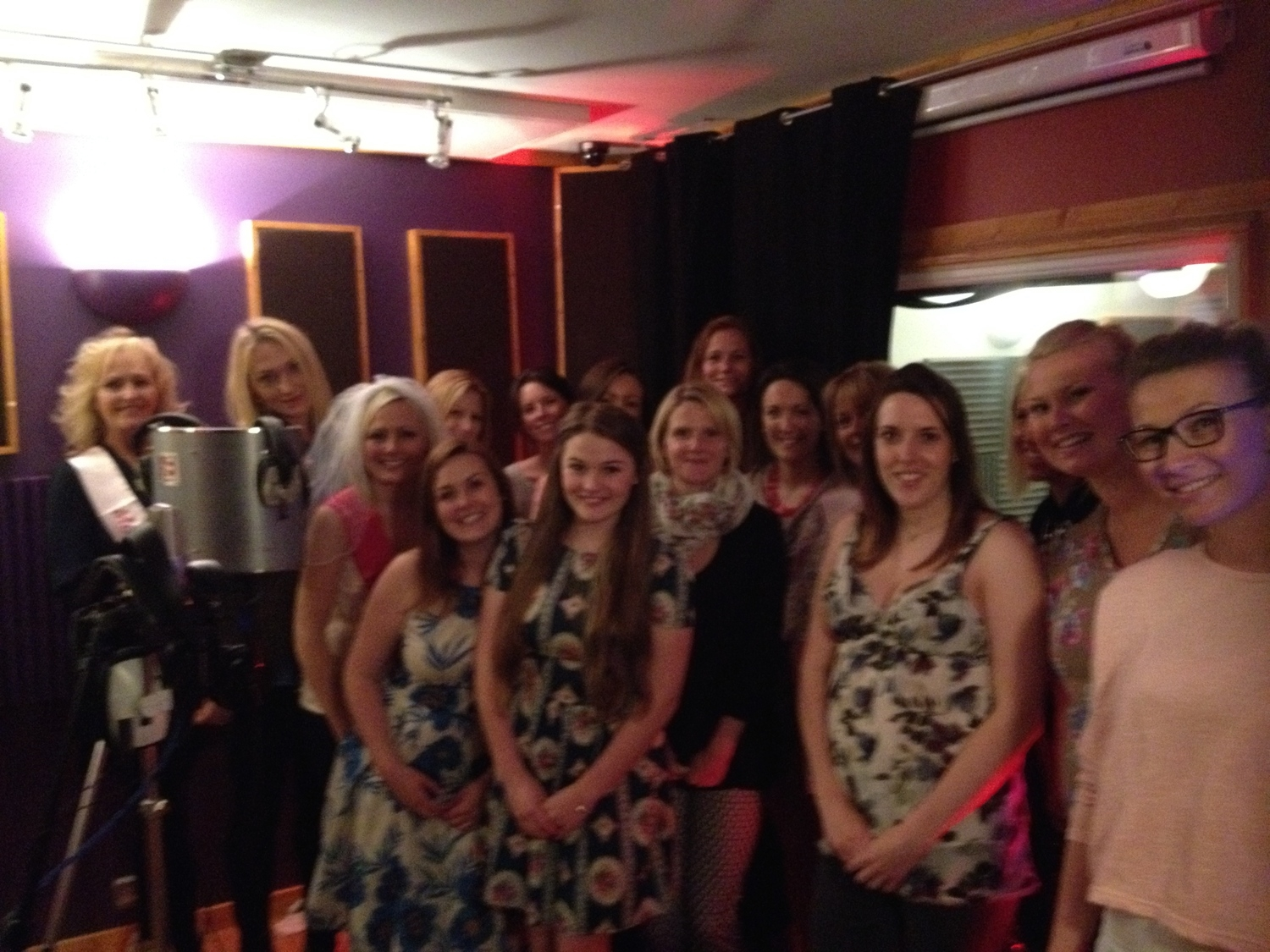 Styles Recording Studio Exeter    Hen Party Studio Experiences