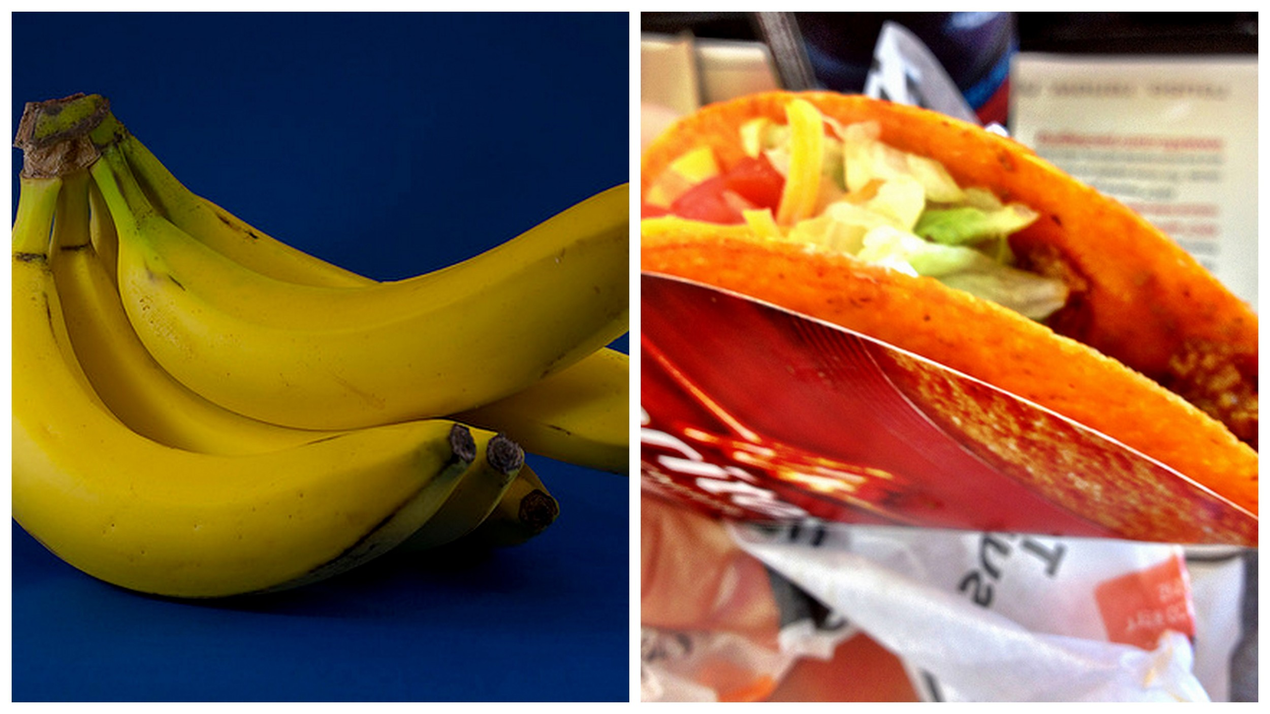 Banana and    Doritos taco   .