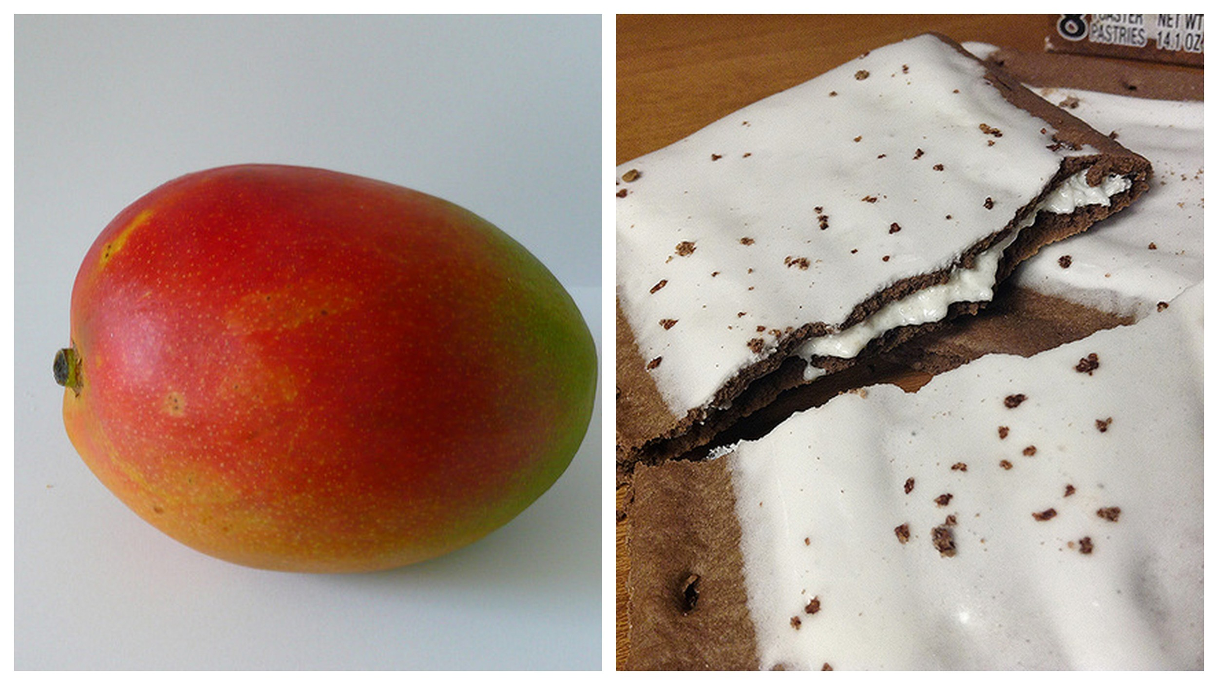 Mango    and    Pop Tarts   .