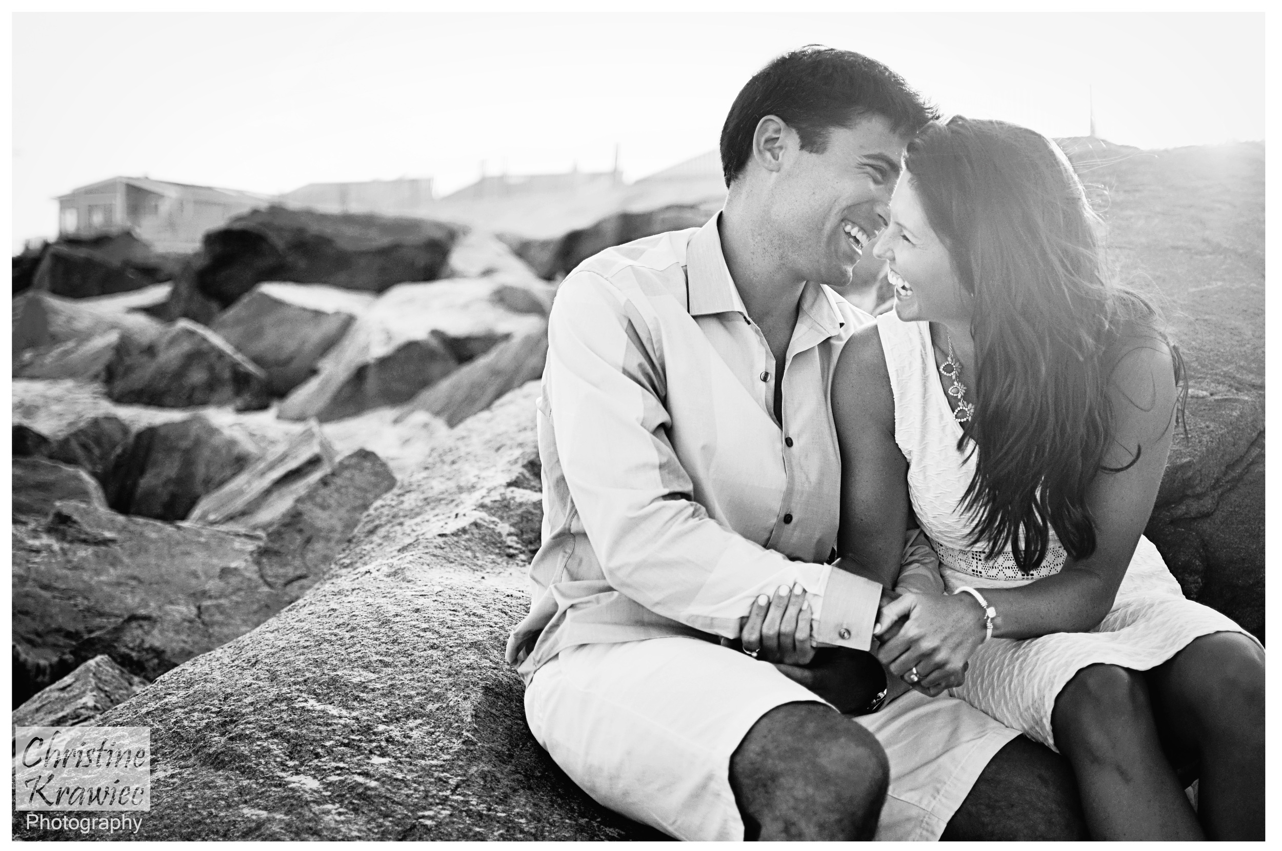 Christine Krawiec Photography - Ocean City Engagement Photographer