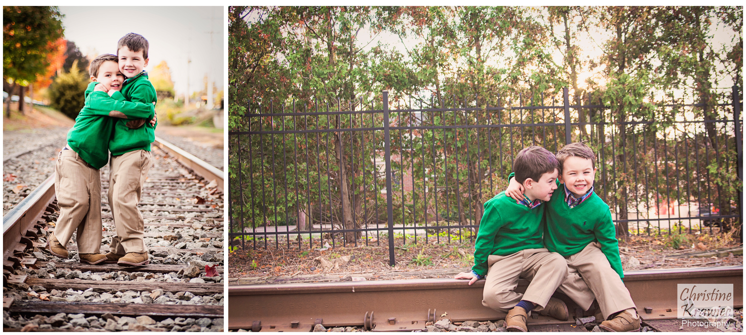 Christine Krawiec Photography - Haddon Heights Train Tracks
