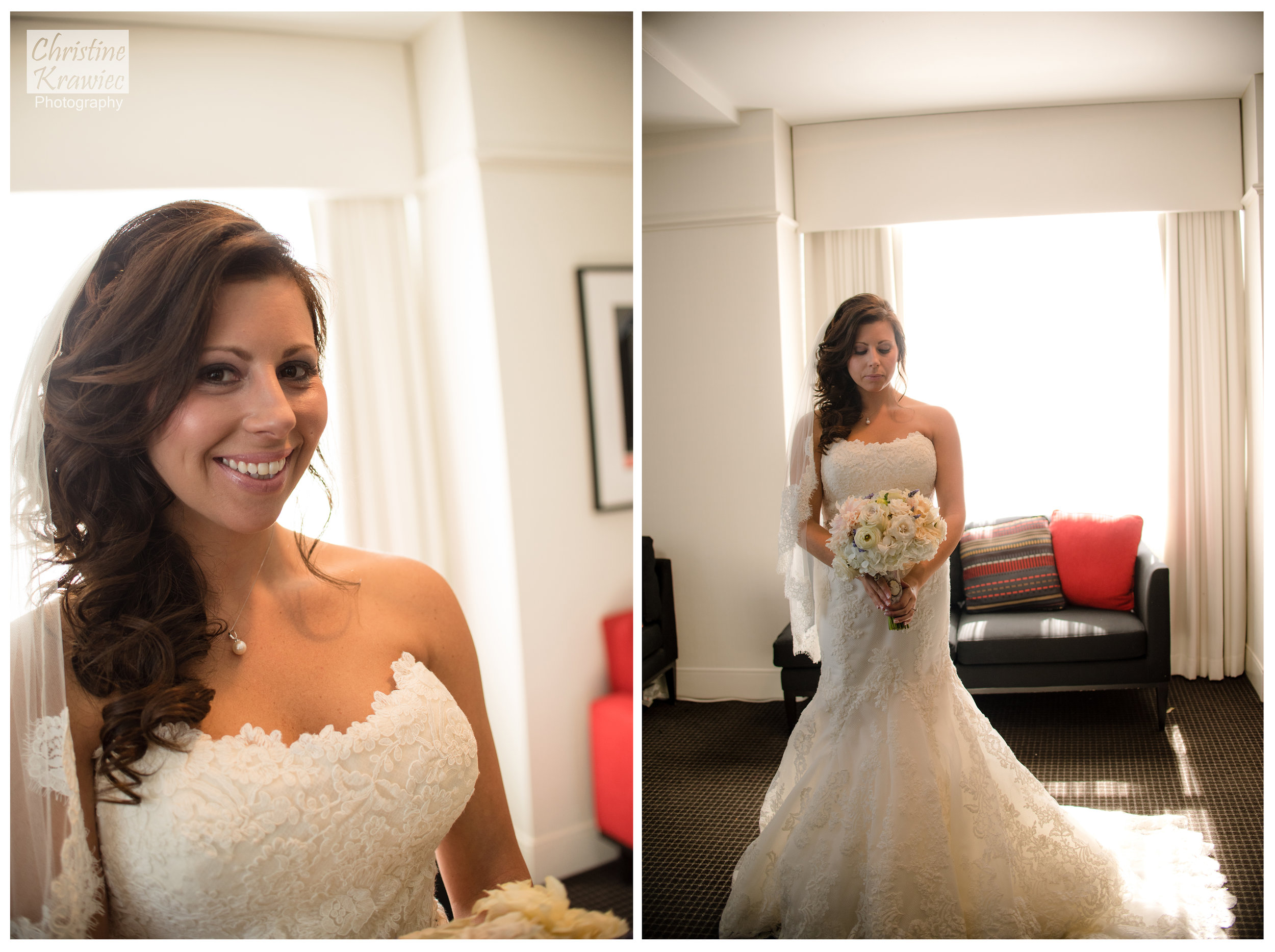 Lauren makes a stunning bride!
