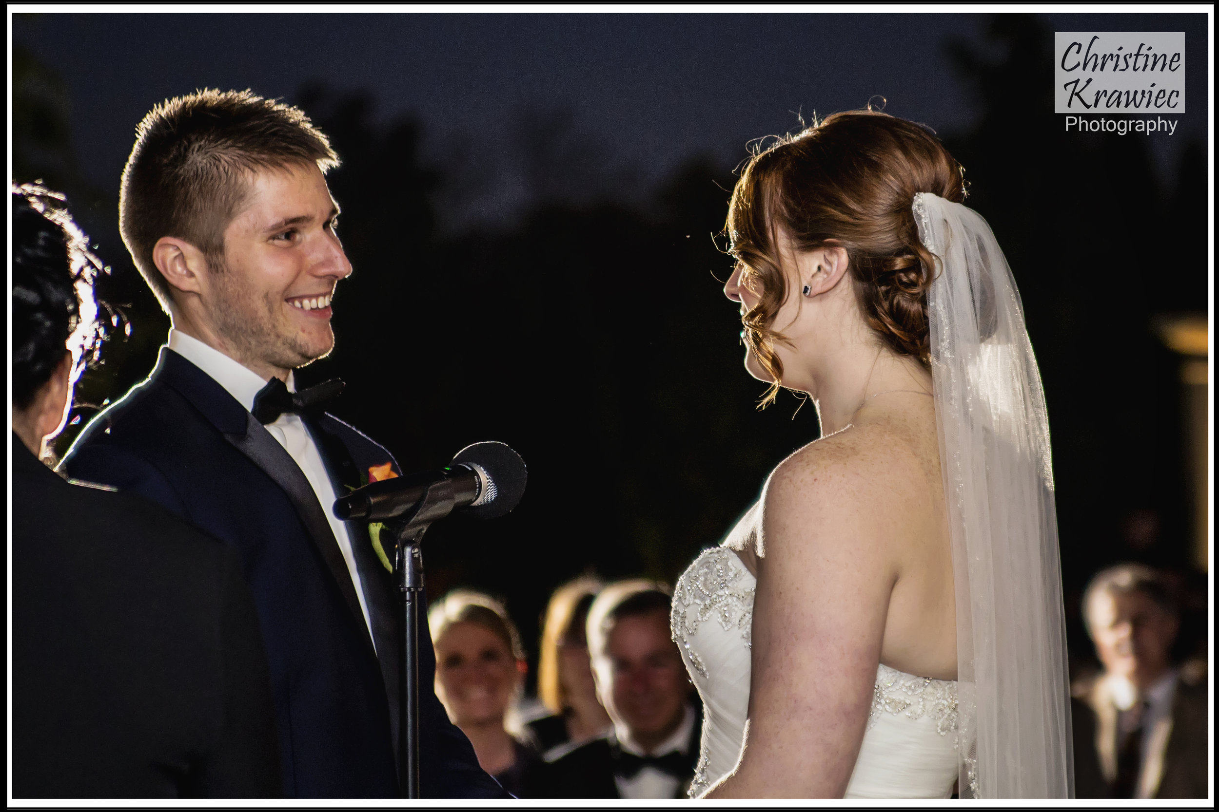 I always love the joy beaming from the couple at the ceremony