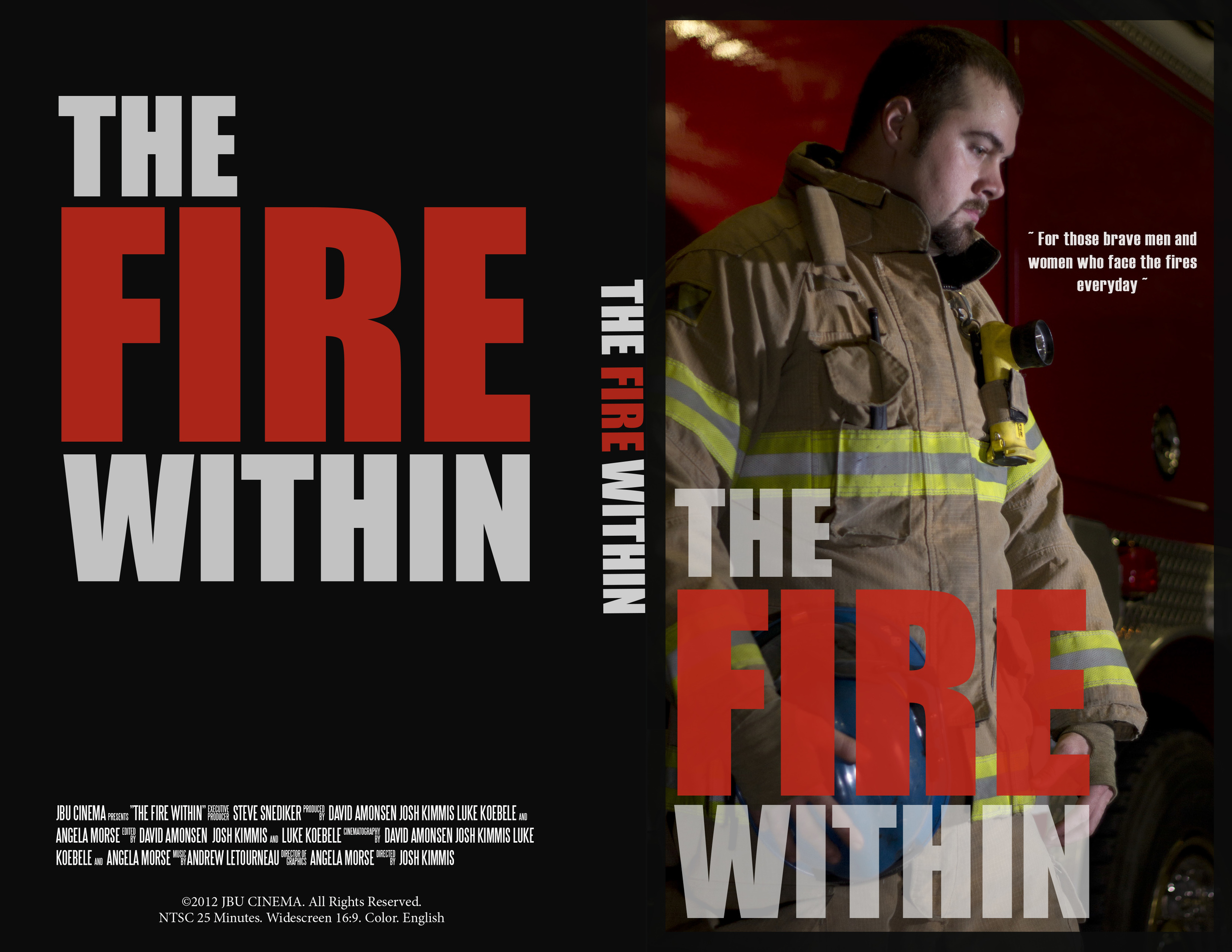 THE FIRE WITHIN - cover art