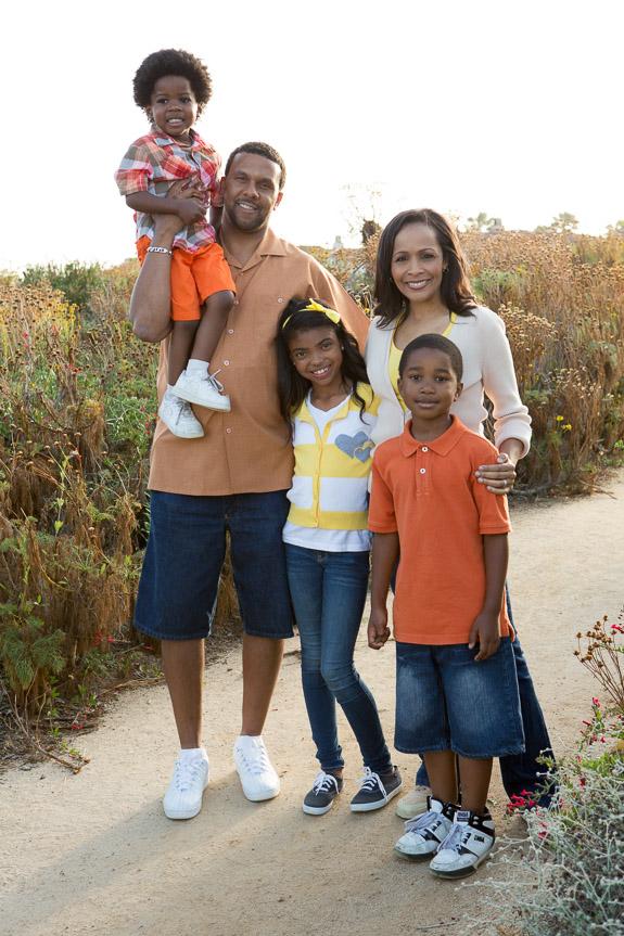 Black family photo