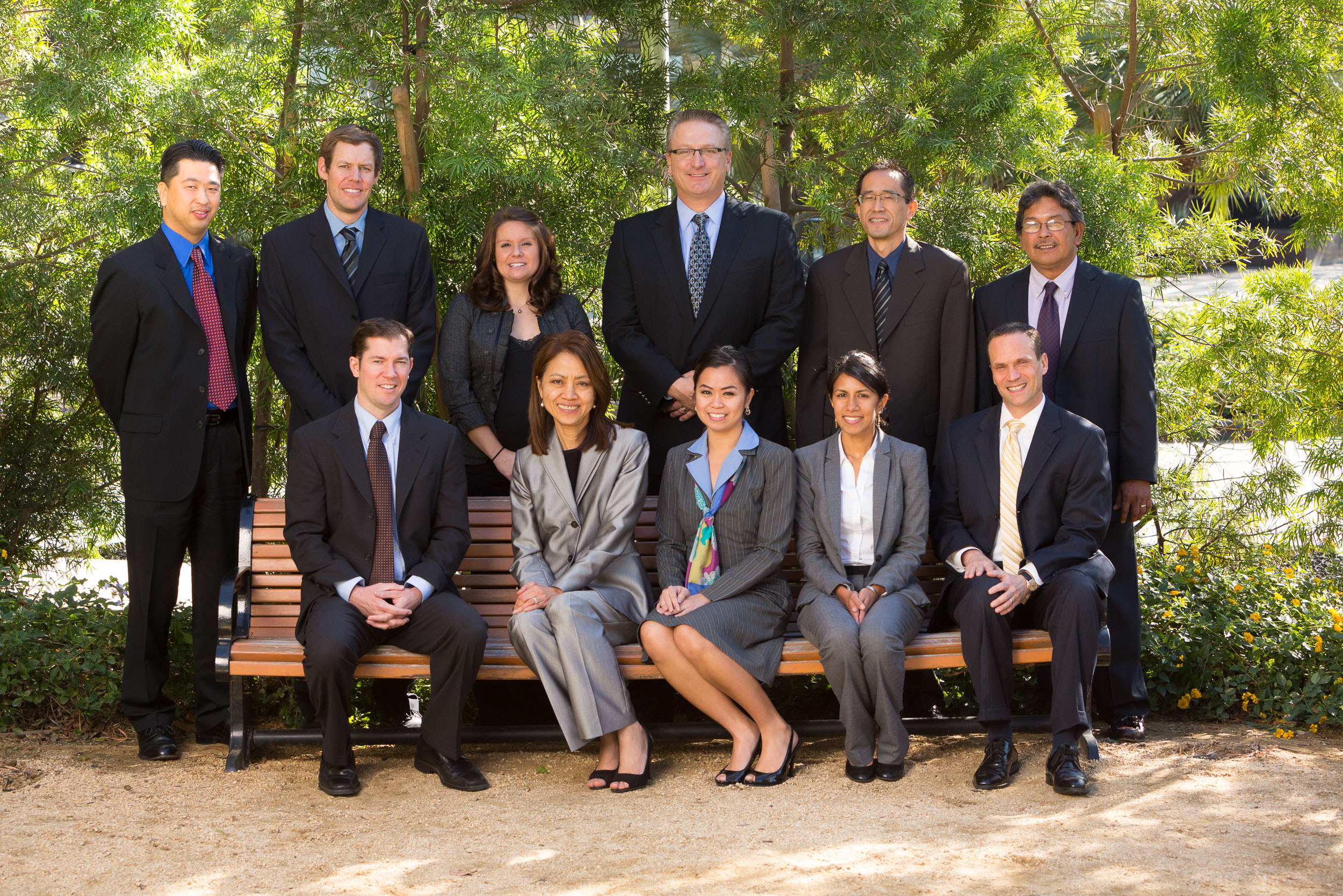Back Row - Left to Right: