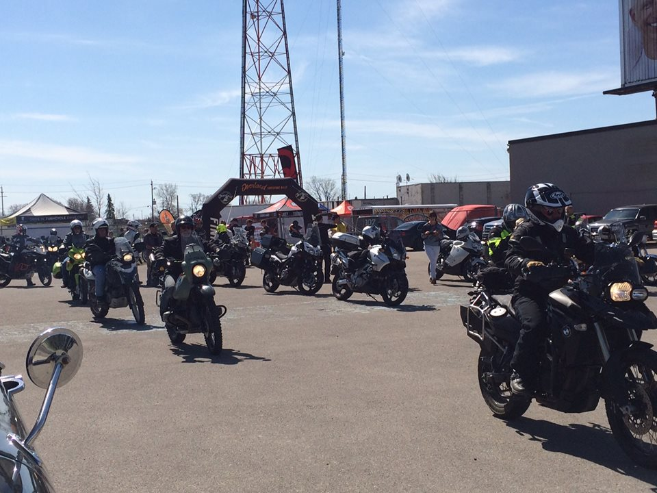 Riders at the Dualsport Plus Open House