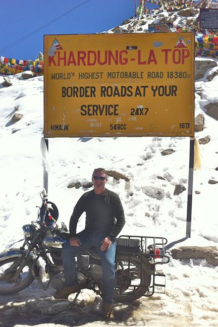 Khardung La Top - World's Highest Motorable Road