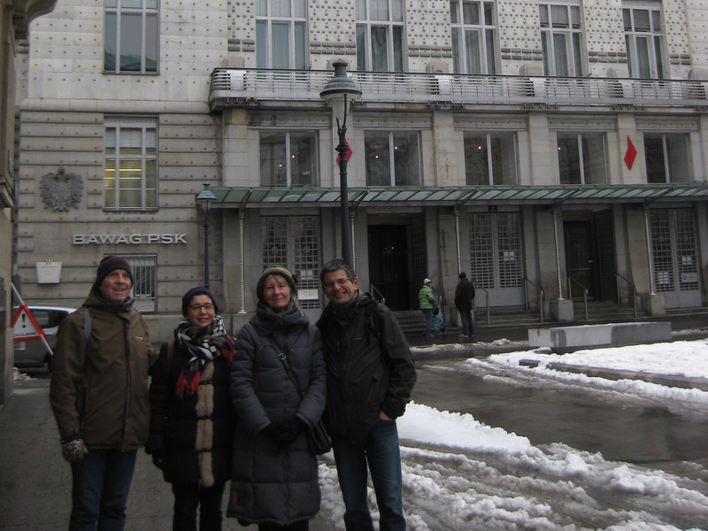 A winter walk with Vienna Greeters