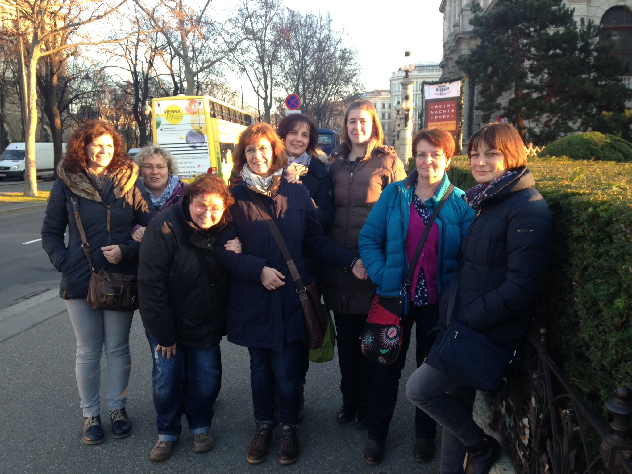 Visitors to Vienna with Vienna Greeters
