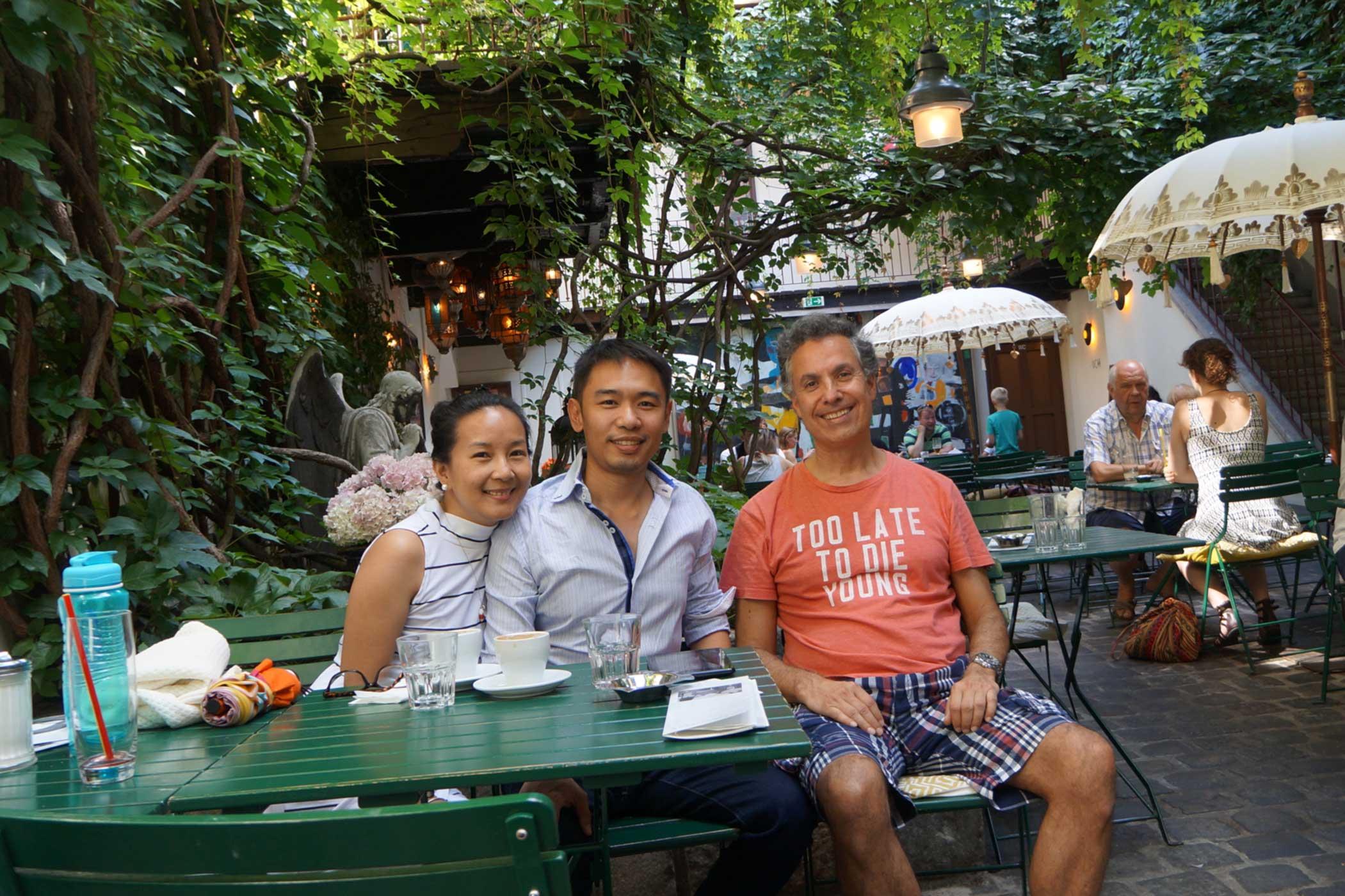 On a summertime walk in Vienna