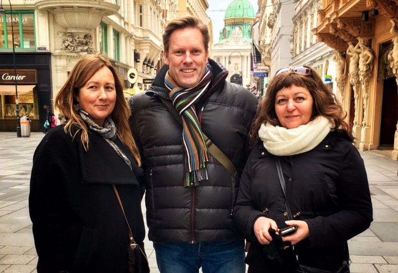 Exploring the historic centre of Vienna